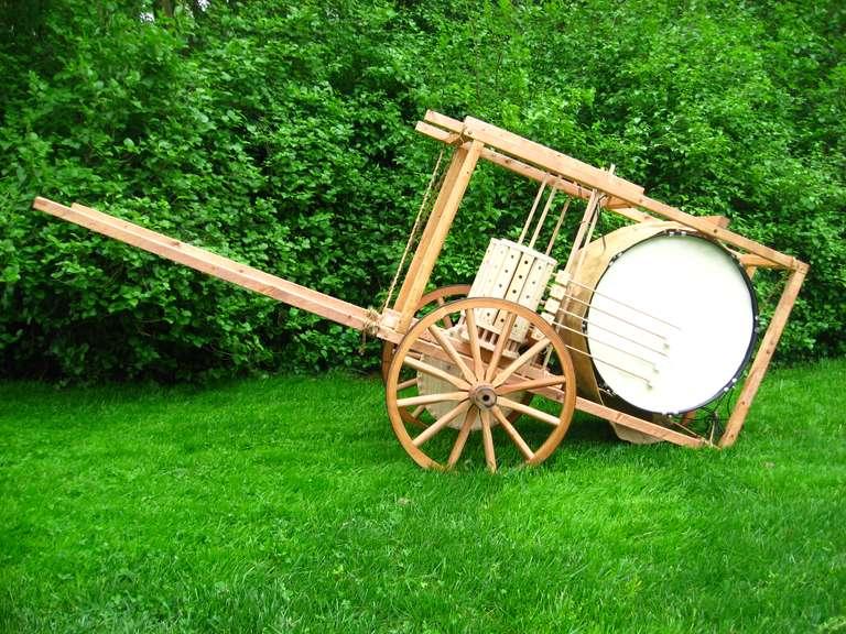 Mechanical drum left side