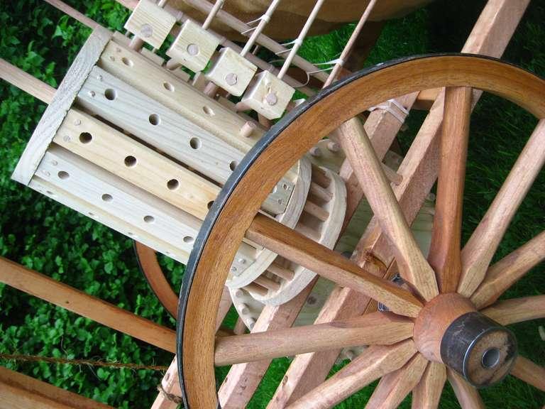 Mechanical drum mechanism