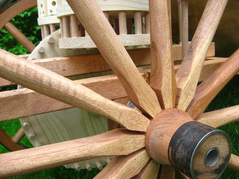 Mechanical drum wheels